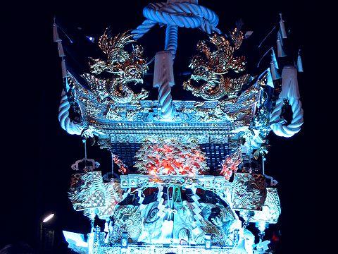 電飾屋台/播州の秋祭り・多可町