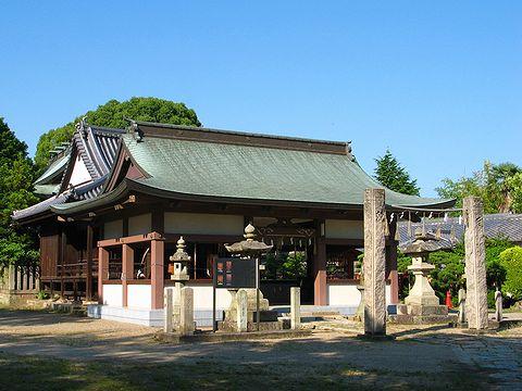 宮本伊織ゆかりの泊神社/加古川市