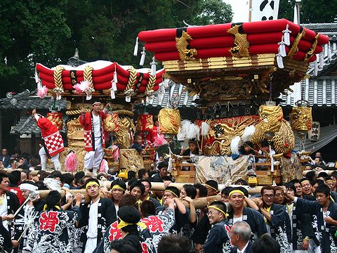 岩壺神社秋祭り/三木市/播州三木秋祭り