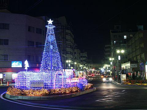 JR西明石駅クリスマスイルミネーション/明石市