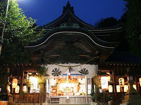 初詣・大避神社/正月の風景写真/赤穂市