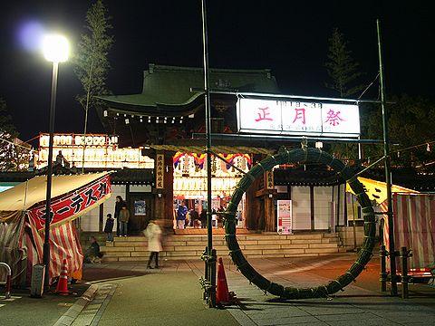 初詣・播磨国総社 茅の輪くぐり/姫路市