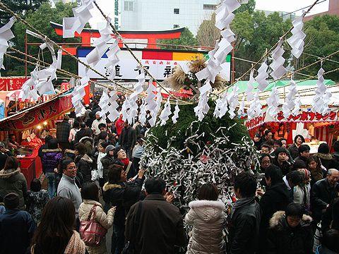 初詣・生田神社/神戸市