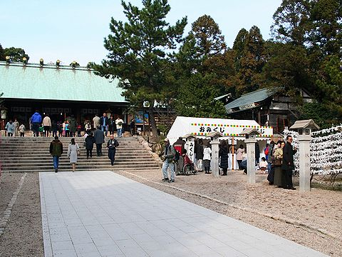 初詣・廣田神社/西宮市