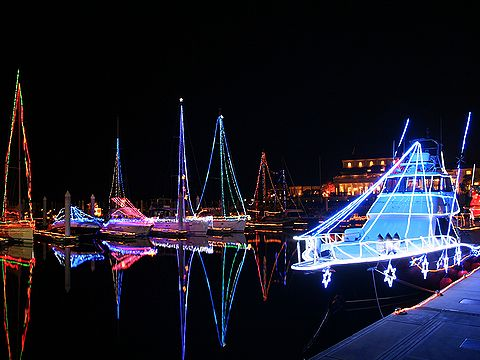 ベルポート芦屋のクリスマスイルミネーション・夜景/芦屋市