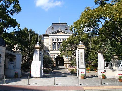 兵庫県公館の正面玄関/神戸市中央区