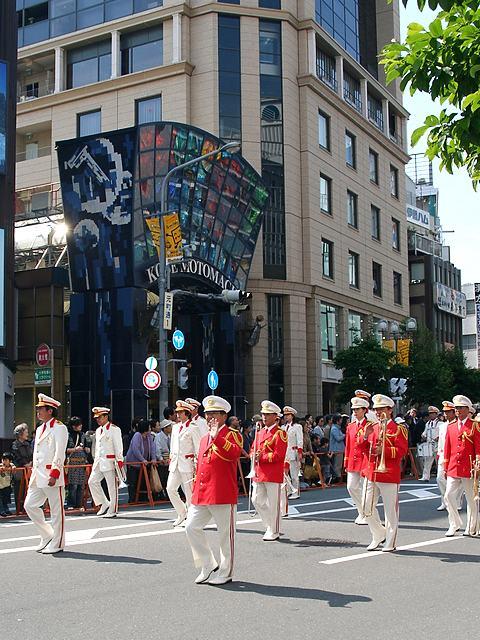 神戸市消防音楽隊・神戸祭り2007パレード/神戸市中央区