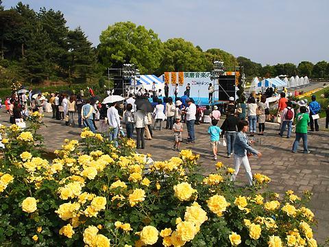 須磨離宮公園の神戸まつり・須磨音楽の森2007/神戸市須磨区