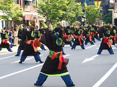 颯爽JAPAN・神戸まつりよさこいパレード/神戸市中央区
