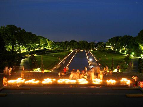 100万人のキャンドルナイト KOBE in 離宮/神戸市 須磨離宮公園