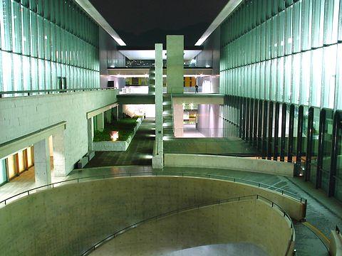 兵庫県立美術館・HAT神戸の夜景/神戸市中央区