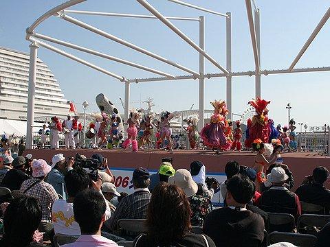 KOBEメリケンフェスタ2006と神戸サンバ/メリケンパーク
