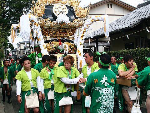 米田天神社秋祭り/高砂市