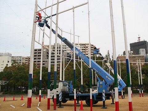 2006年第12回神戸ルミナリエ設営工事/神戸市東遊園地