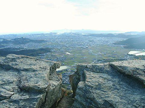 高御位山 山頂から見る高砂市と加古川市の風景/高砂市