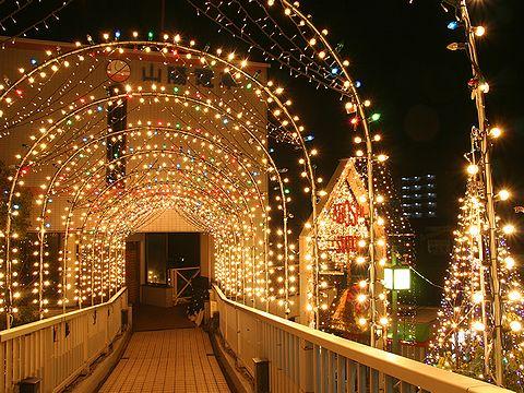あぼしイルミネーションフェスティバル/姫路市・山陽電車網干駅