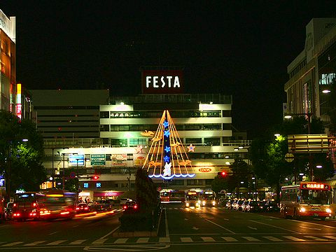 JR姫路駅のクリスマスイルミネーション・HIMEJI Wintopia 2006/姫路市