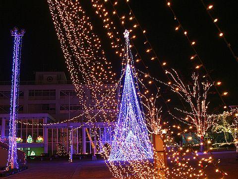 小野クリスマスイルミネーション/小野市・コミュニティーセンターおの