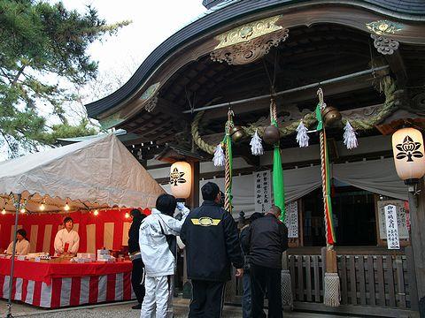 初詣・岩屋神社/明石市
