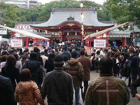 """初詣・生田神社/神戸市"""""""