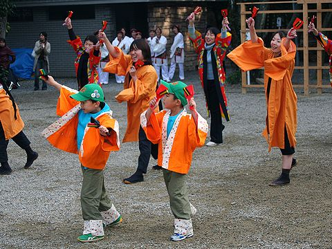 神戸学園踊り子隊/よさこい踊り奉納/西宮市