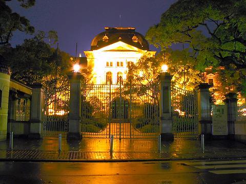 兵庫県公館のライトアップ・夜景/神戸市中央区