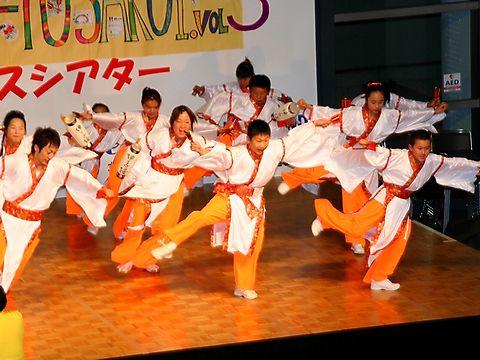 神戸学園踊り子隊・神戸まつりよさこいステージ/神戸市中央区