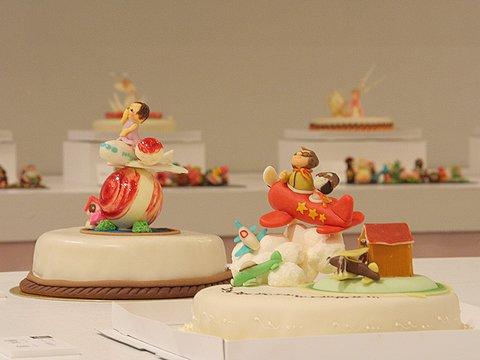 神戸空港とヒコーキが題材となったデコレーションケーキコンテスト