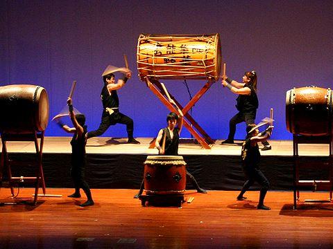 和太鼓の演奏/相生市民会館