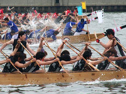 ペーロン競漕/相生ペーロン祭