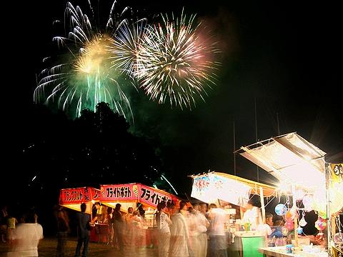 上月ふるさと夏祭り花火大会/佐用町 笹ケ丘公園