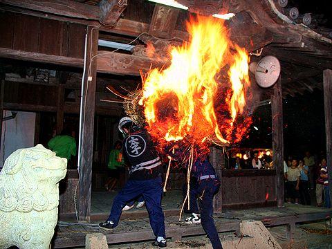 太子町の伝統行事・原の火まつり