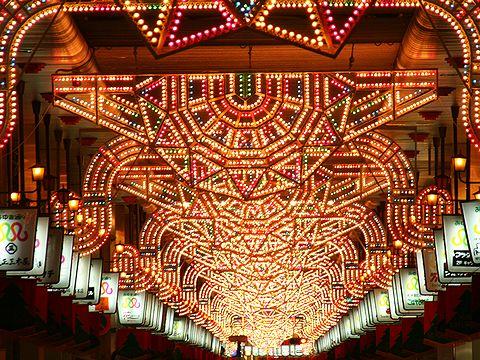 姫路みゆき通りのクリスマスイルミネーション・HIMEJI Wintopia 2006/姫路市