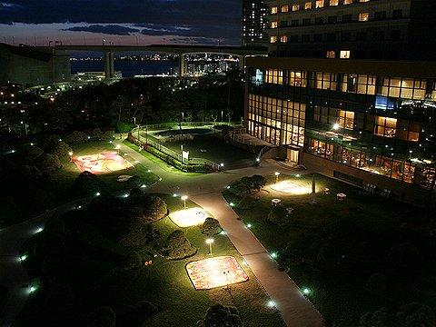 2006年インフィオラータこうべのライトアップ/神戸市 舞子ビラ会場