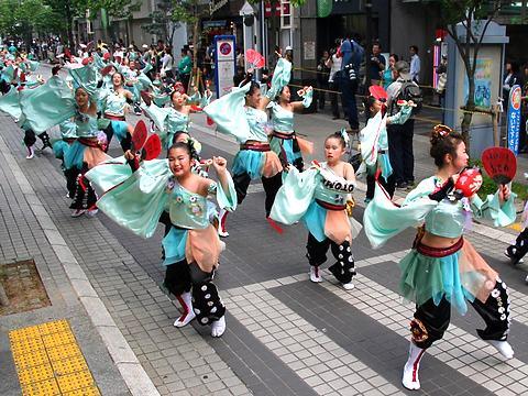 KAKOGAWA踊っこまつり・加古川駅前商店街ベルデモールよさこいパレード/加古川市