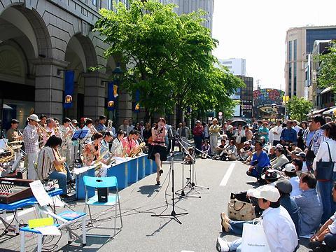 KOBE JAZZ LIVE STREET・神戸まつり2007/神戸市中央区