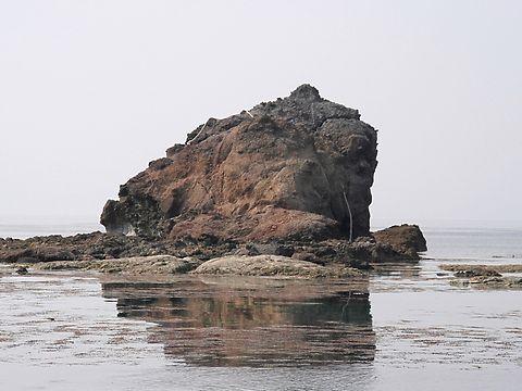 日本海の風景・香住海岸とカエル岩/香美町香住区
