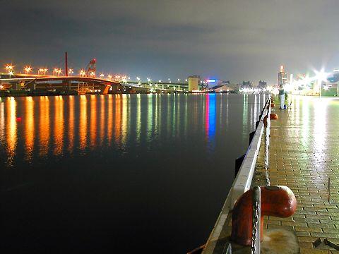 神戸ハーバーウォーク・HAT神戸の夜景/神戸市中央区