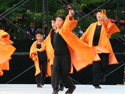 神戸学園踊り子隊/明石子午線どんとこいおどり
