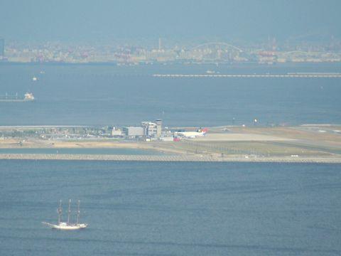 神戸空港(神戸マリンエア)~大阪湾の風景/神戸市須磨区・鉢伏山須磨山上遊園