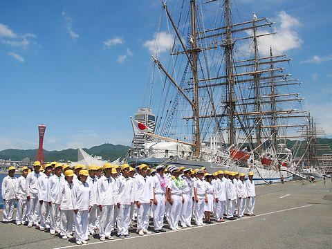 帆船 日本丸 / 神戸市中央区・神戸港新港第1突堤