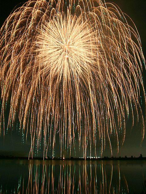 いなみ大池まつり花火大会/稲美町・加古大池の花火