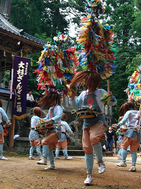 大杉ざんざこ踊/二宮神社