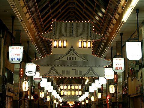 西二階町商店街・姫路城のクリスマスイルミネーション・HIMEJI Wintopia 2006/姫路市