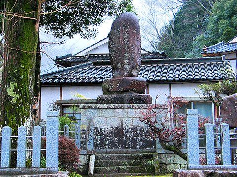 宮本武蔵の生誕地の碑/岡山県