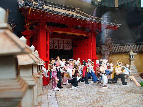 福男選びを再現したデコレーションケーキ/初詣・西宮神社/西宮市