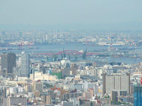 和田岬~神戸港~ポートアイランド~神戸大橋の風景/神戸市須磨区・鉢伏山須磨山上遊園<br />