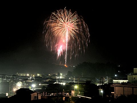 妙見山夏まつり 花火大会/宍粟市千種町