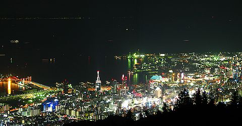 耶山掬星台・神戸1000万ドルの夜景/神戸市六甲山