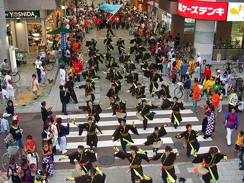 颯爽JAPAN(兵庫県神戸市)/長田ガヤガヤよさこいまつり